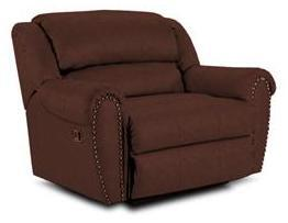 Lane Furniture 21414102540 Summerlin Series Transitional Fabric Wood Frame  Recliners