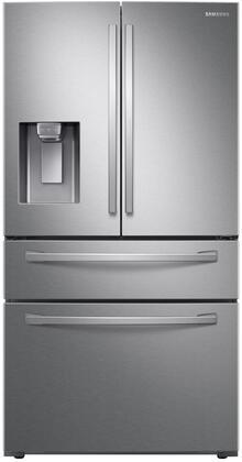 Samsung RF22R7351SR 36 Inch Counter Depth French Door Refrigerator