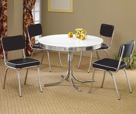 Coaster 2388SETBLACK Cleveland Dining Room Sets