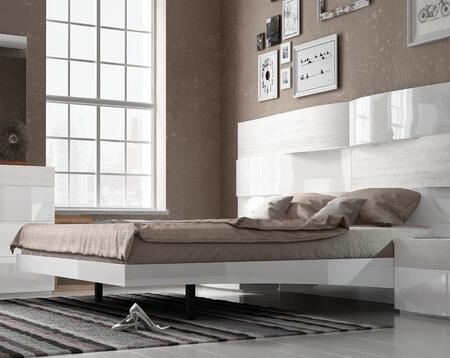 ESF Cordoba Collection Panel Bed with Wooden Slat Frame