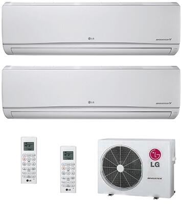 LG 706658 Dual-Zone Mini Split Air Conditioners