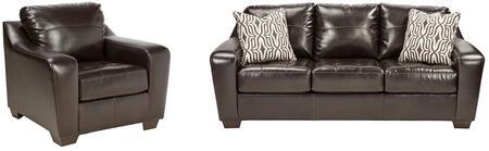 Milo Italia MI2219SCCHOC Bentley Living Room Sets