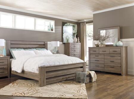 Signature Design by Ashley B248KPBDMC Zelen King Bedroom Set