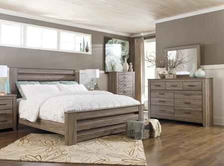 Milo Italia BR364KPBDMC Bolton King Bedroom Sets