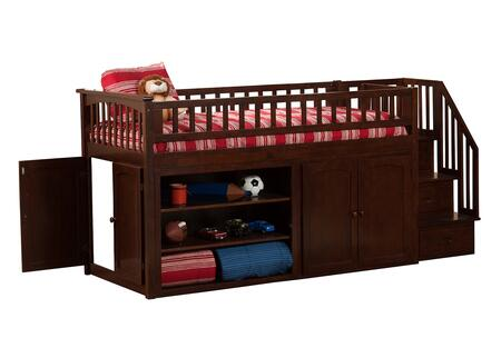 Atlantic Furniture AB62104  Twin Size Loft Bed