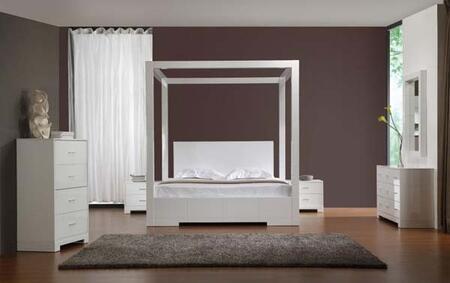VIG Furniture SANNANS Sanna Series  Wood Night Stand