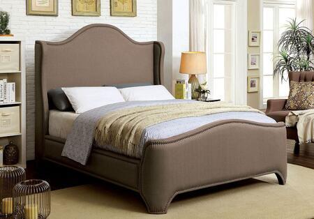 Furniture of America CM7516CKBED Rebecca Series  California King Size Bed