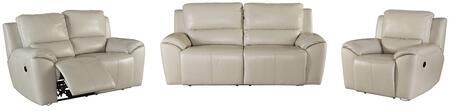 Milo Italia MI4910SLRPCREA Jermaine Living Room Sets
