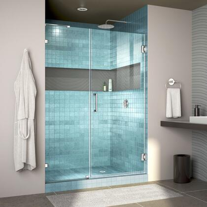 DreamLine Unidoor Lux Shower Door RS30 30D 22IP 01 Blue Tile
