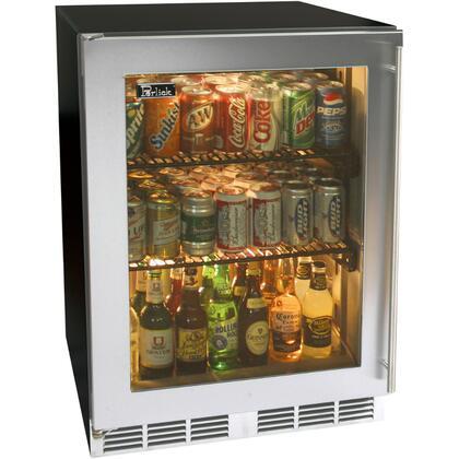 Perlick HA24RB4LDNU ADA Compliant Series Compact Refrigerator with 4.3 cu. ft. Capacity