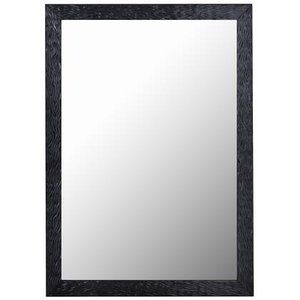 Hitchcock Butterfield 68000X Reflections Shimmering Black Pearl Framed Wall Mirror