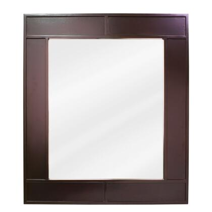 Lyn Design MIR042 Manhattan Series Rectangular Both Bathroom Mirror