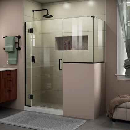 DreamLine Unidoor X Shower Enclosure 6HP 30D 24BP 30RP 09