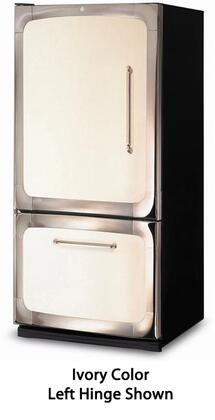 """Heartland 3015-00L 30"""" Energy Star Bottom Freezer Refrigerator with 18.5 cu. ft. Capacity, Digital Temperature Control, Automatic Defrost, Adjustable Glass Shelves, and Left Hinge Door Swing"""