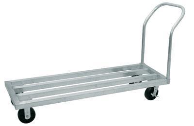 Advance Tabco DUN-20 Lite Series Aluminum Mobile Dunnage Rack