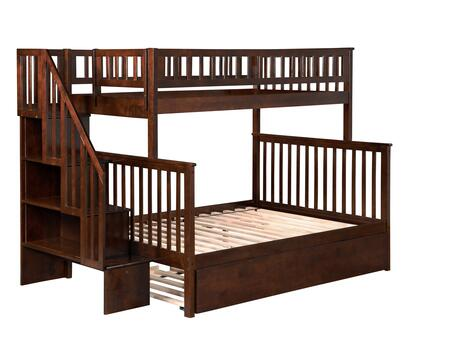 Atlantic Furniture AB56754  Twin Over Full Size Bunk Bed