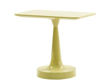 VIG Furniture VGWCPISAETGRN Modrest Pisa Series Modern Wood Rectangular None Drawers End Table
