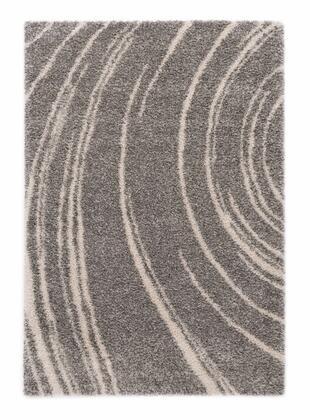 Citak Rugs 5620-050X Shoreline Collection - Current - Slate Mix