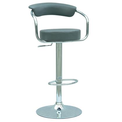 Chintaly 0326ASGRY  Bar Stool