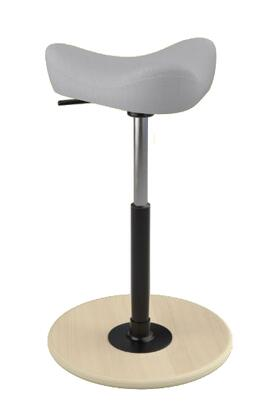 """Varier MOVE SMALL 2700 STEELCUT TRIO 2 22"""" - 32"""" Sit-Stand Chair with Steelcut Trio 2 Upholstery,"""
