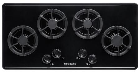 "Frigidaire FFGC3613LB 36"" Gas Sealed Burner Style Cooktop, in Black"