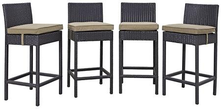Modway EEI2218EXPMOCSET Rectangular Shape Patio Sets