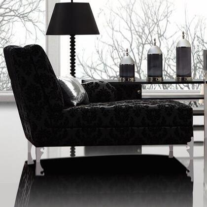 VIG Furniture PRAGUECS Prague Series Modern Leather Chaise Lounge