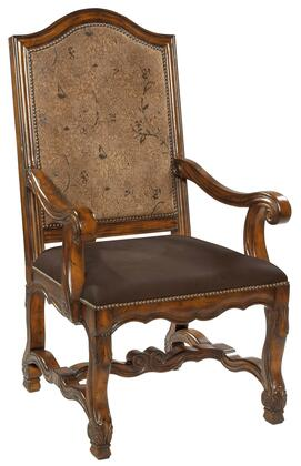 Ambella 10124620001 Avignon Series Leather with Wood Frame in Light Wood