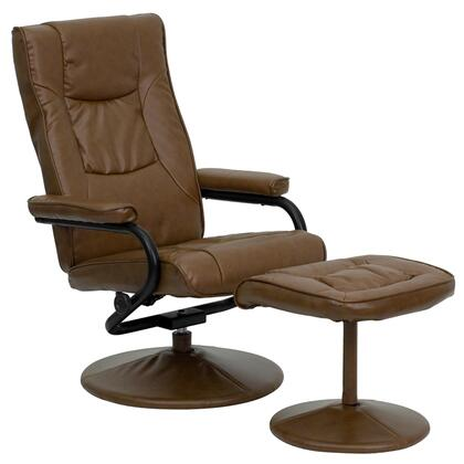 Flash Furniture BT7862PALIMINOGG Contemporary Bonded Leather Wood Frame  Recliners