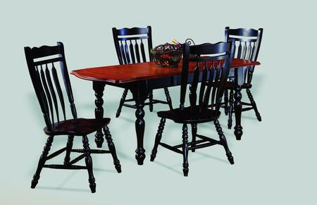 Sunset Trading DLUTDX3472C10AB5PC Sunset Selections Dining R