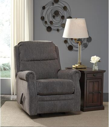 Flash Furniture FSD6059RECFLNGG Earles Series Contemporary Fabric Metal Frame  Recliners