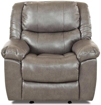 Klaussner CIMARRONRRC Cimarron Series Casual Bonded Leather Wood Frame Rocking Recliners