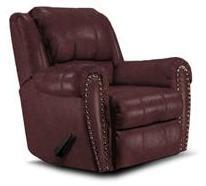 Lane Furniture 2141463516340 Summerlin Series Transitional Leather Wood Frame  Recliners
