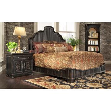 Ambella 02226210082 Bonita Series  Queen Size Platform Bed