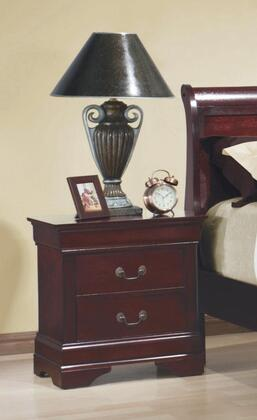 Coaster 203972 Louis Philippe Series Rectangular Wood Night Stand