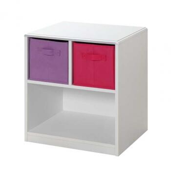 4D Concepts 12415  Composite board, PVC laminate Night Stand