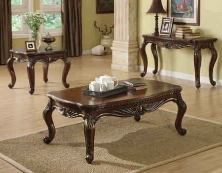 Acme Furniture 8006456 Remington Living Room Table Sets