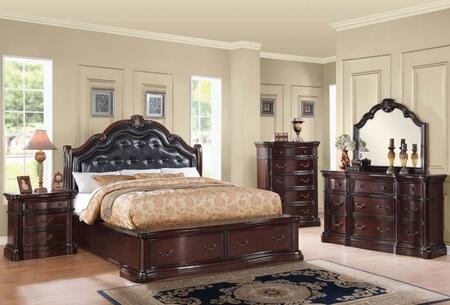 Acme Furniture 20622CK5PC Veradisia California King Bedroom