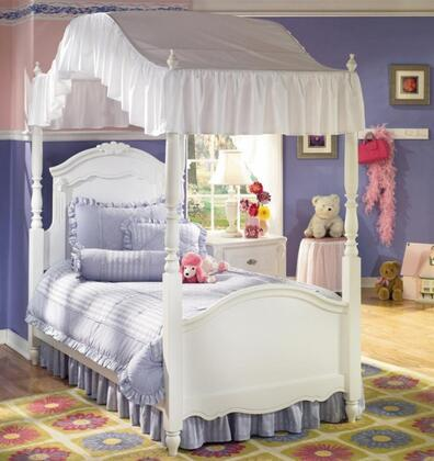 Signature Design by Ashley B188B10019515283 Exquisite Series Childrens Twin Size Canopy Bed