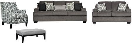 Signature Design by Ashley 65603SLACO Gilmer Living Room Set