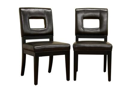 Wholesale Interiors Y7650011SET Faustino Dining Room Chairs
