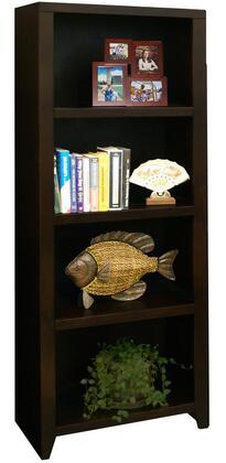 Legends Furniture UL3203MOC Urban Loft Series Wood 4 Shelves Bookcase