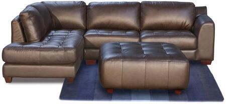Diamond Sofa ZENLF2PCSECTOTTOM Zen Series  Sofa