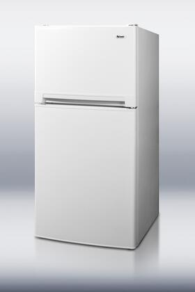 Summit FF874W Freestanding Top Freezer Refrigerator with 8.1 cu. ft. Total Capacity 1 Wire Shelves