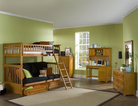 Atlantic Furniture YBBCOLUMBIATWINFUTONWH