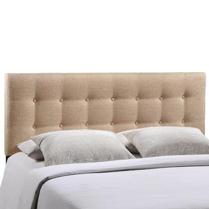 Modway MOD-5170-XXX Emily Queen Size Contemporary Headboard with 10 Square Design, Fiberboard and Plywood Frame, and Fine Polyester Upholstery