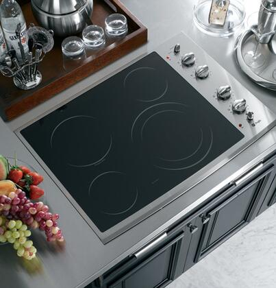 GE Profile PP912SMSS Electric Cooktop