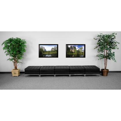 Flash Furniture ZBIMAGOTTO5GG HERCULES Imagination Series Contemporary Bonded Leather Ottoman