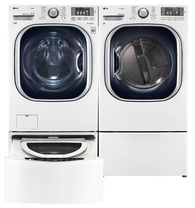 LG LG4PCFL27E2PEDWKIT2 TurboWash Washer and Dryer Combos