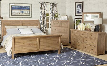 Jofran 943KSBDM Slater Mill King Bedroom Sets